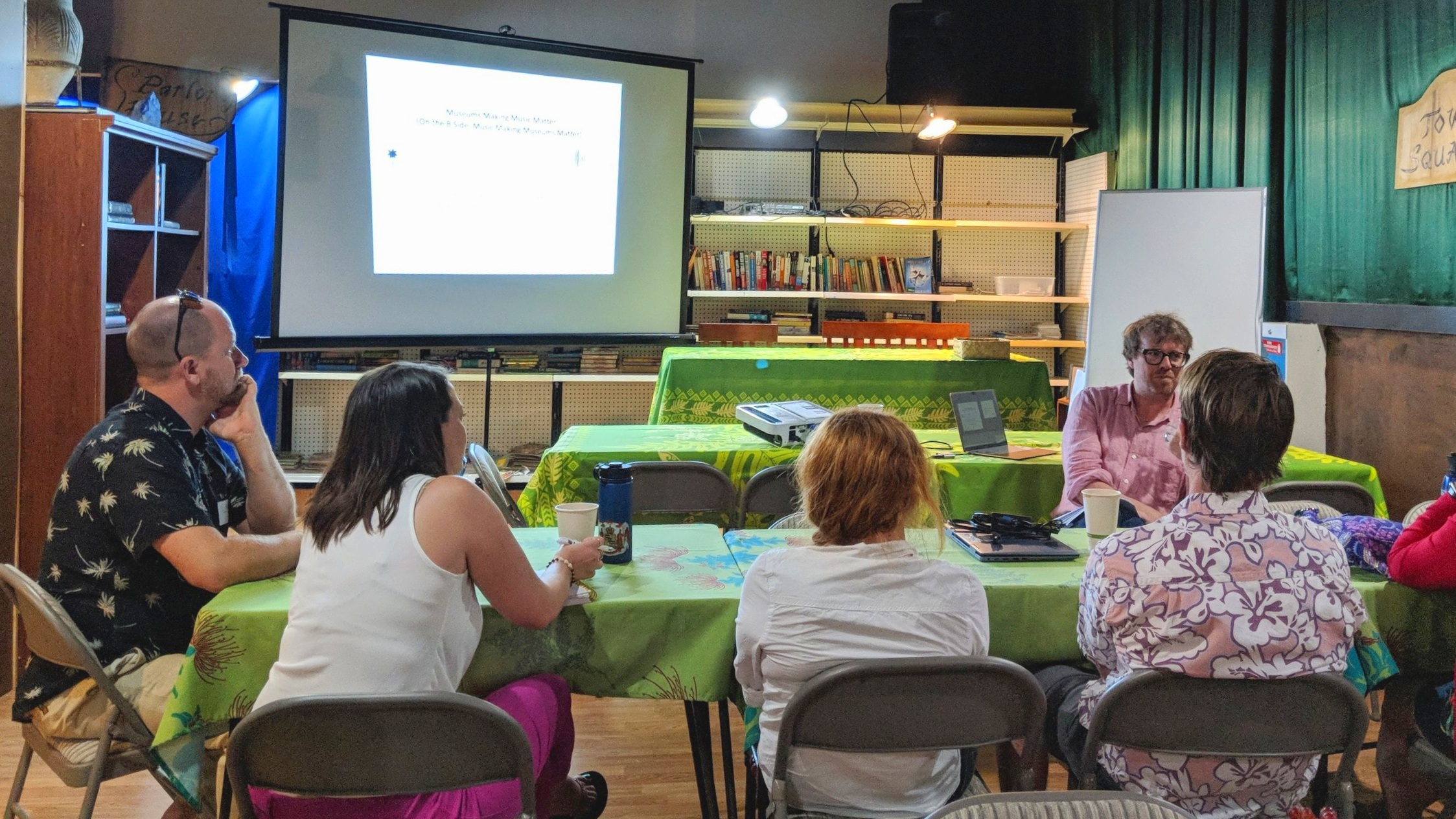 Music Preservation - John Troutman, the Smithsonian Curator of American Music from the National Museum of American History led a workshop Kona Historical Society hosted for museums professionals and the general public about music preservation and music making museums better.