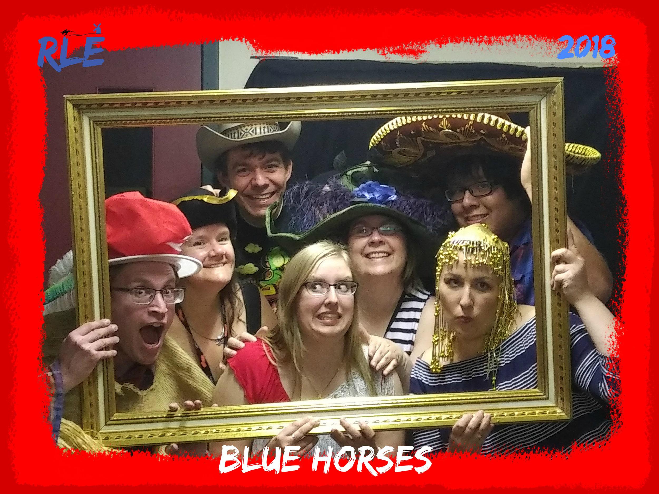 Blue Horses, 2018