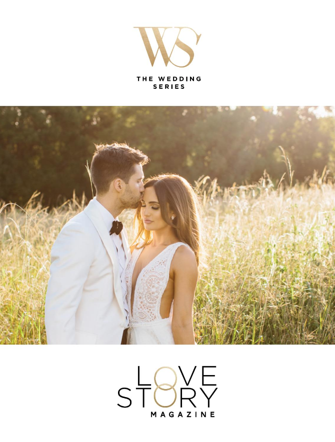 Issue Numero Uno - The Wedding Series Annual Love Story Magazine is a visual feast of incredible Love Stories from high profile couples and magnificent real weddings captured at Australia's most beautiful wedding venues by our countries most sought after photographers.