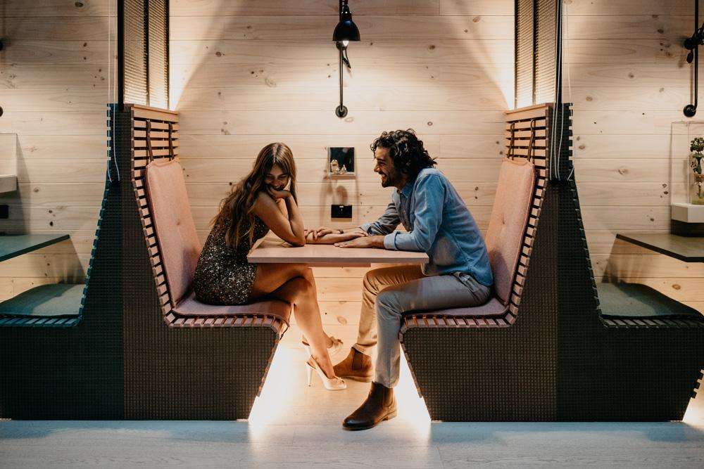 Kissing booths at Ovolo Woolloomooloo
