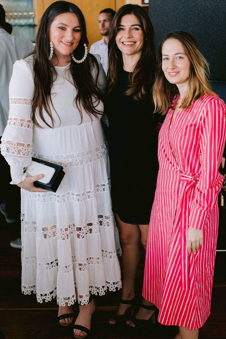 Kashaya Williams of Kashaya& Co with #HRBride Jocelyn Petroni and Vogue's Danielle Gay
