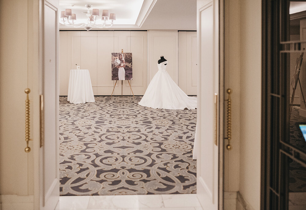 The Langham Sydney Ballroom for the Helen Rodrigues Bridal moment