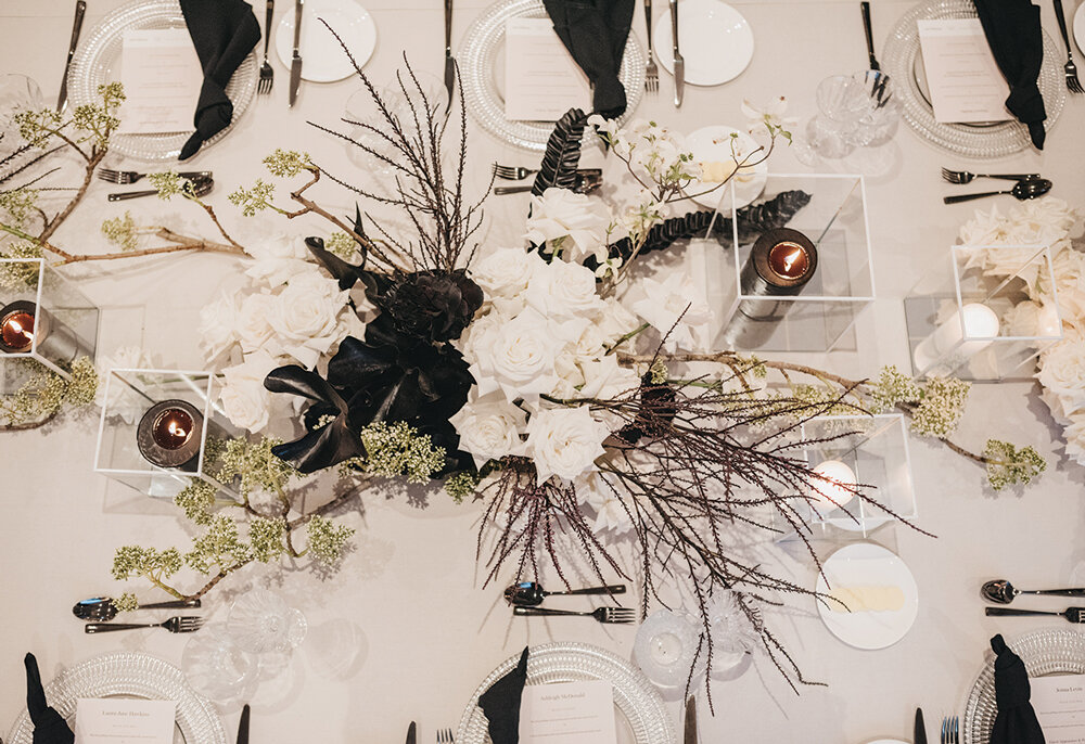 Florals created for BNT Management by Seed Flora