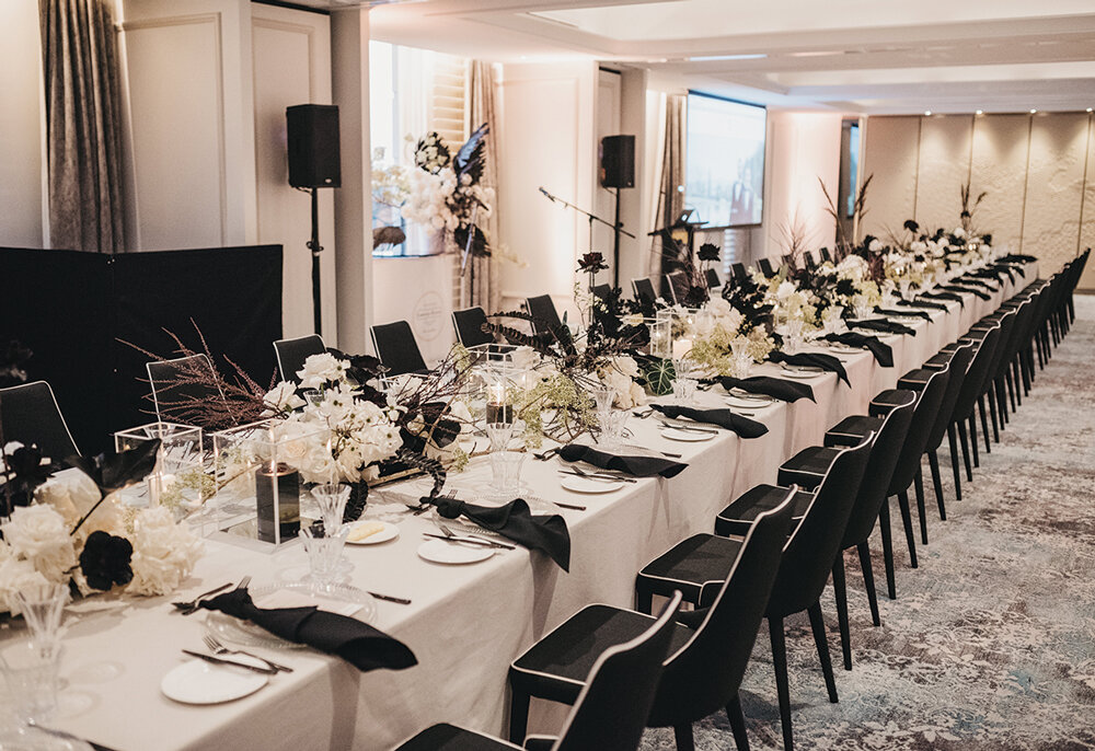 The Drawing Room dinner styled by BNT Management