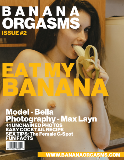Banana Orgasms issue #2 cover.png