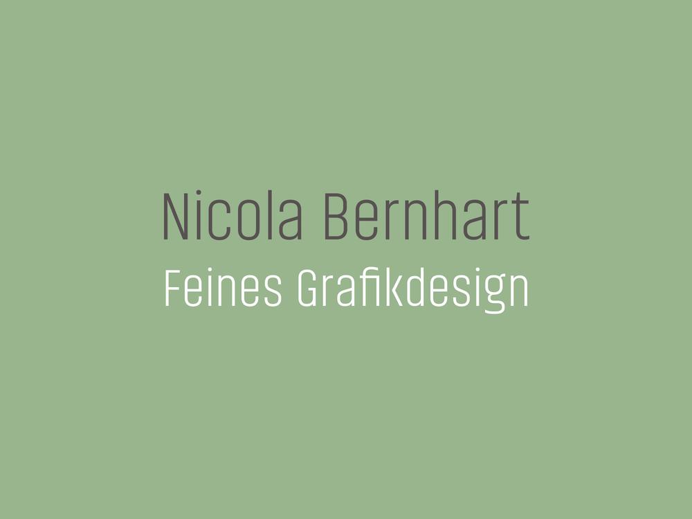 Nicola Bernhart Feines Grafikdesign München