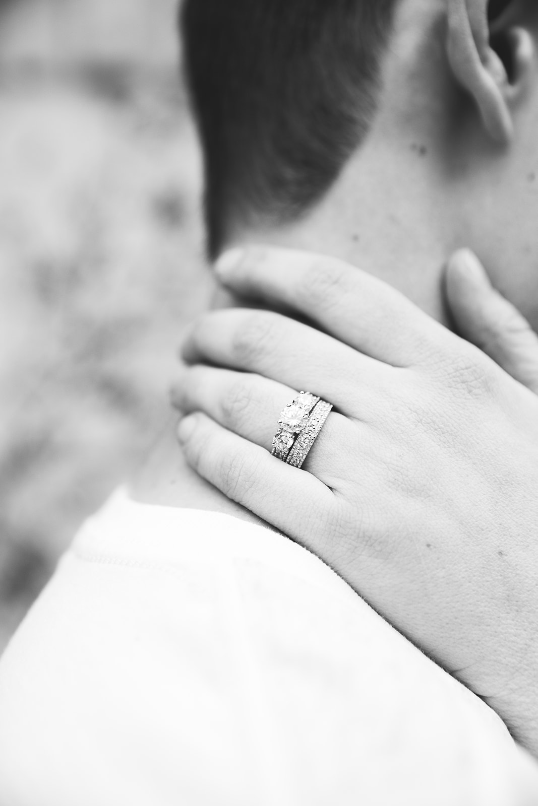 Professional engagement photography with bella alder photography black and white ring shot engagement pictures inspo picture ideas for your utah engagement session #bellaalderphoto #engagements #engagementphotographer #loganutahengagementphotographer #utahengagement #utahwedding #engagementoutfitinspo #loganutah