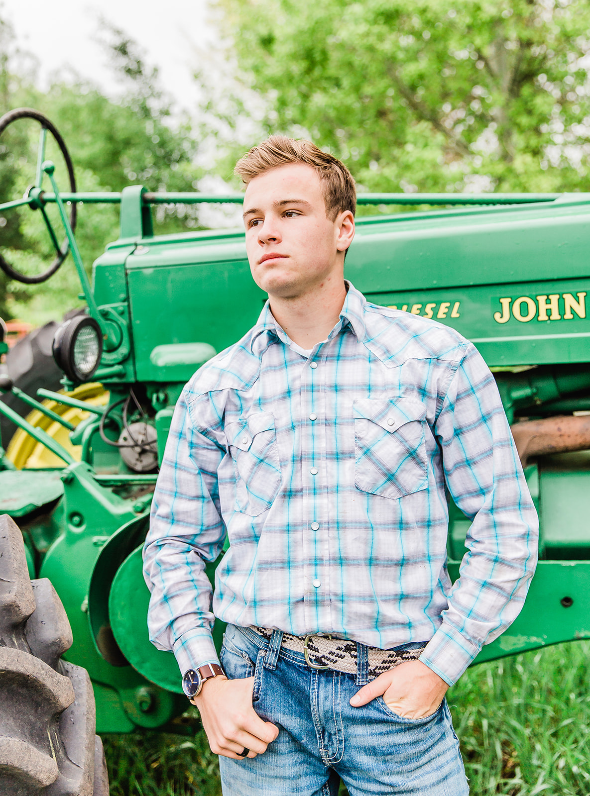 cowboy senior pictures bella alder photography professional portraits seniors session high school graduate tractor cache valley paradise utah photographer #bellaalderphoto #seniorpictures #cowboy #portraits #cachevalley #paradiseutah #loganutahphotographer #utahseniors #utahportraitphotographer #utahseniorphotos #seniorphotos #graduation