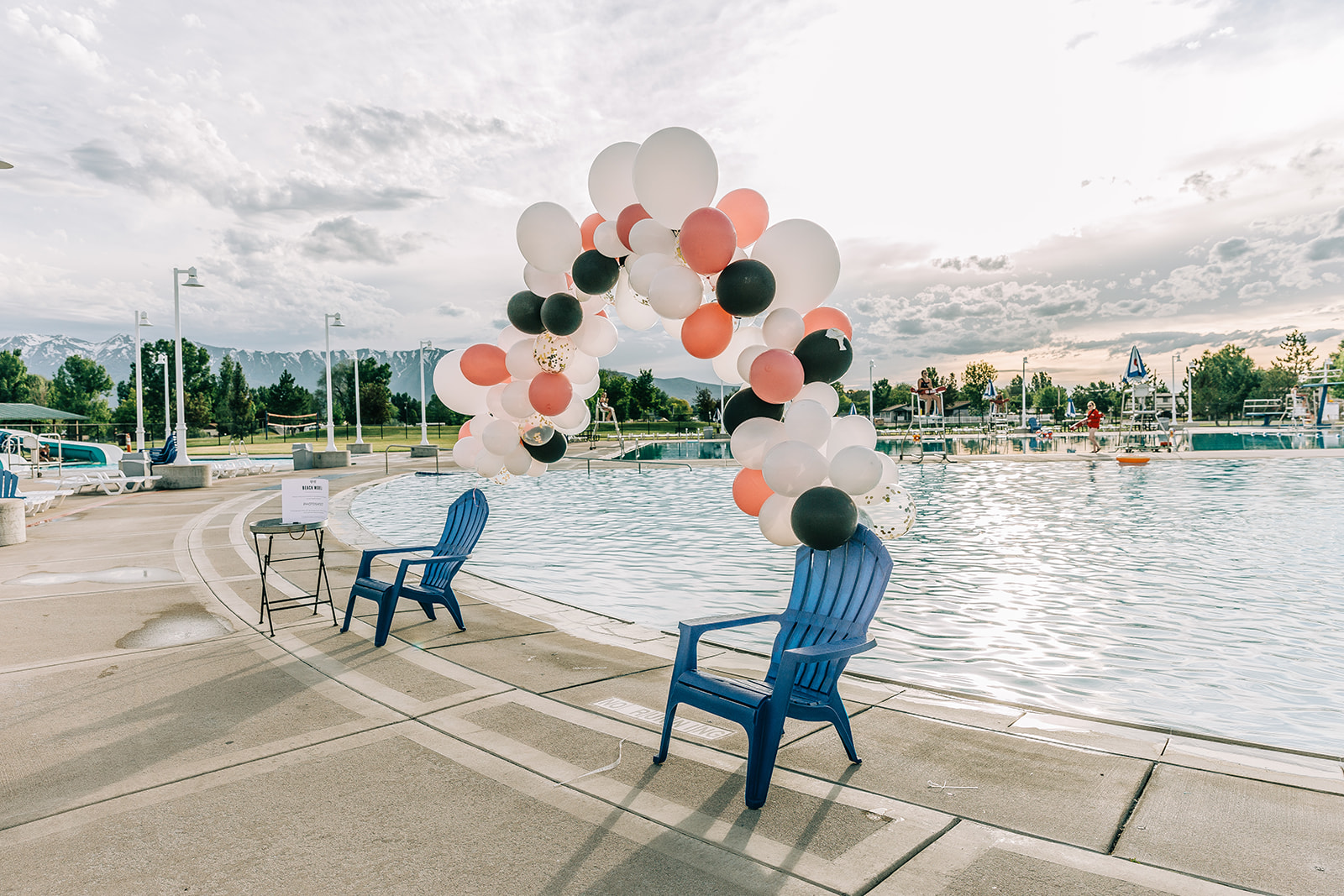 Professional photographer at event commercial pool party with nani swimwear at logan aquatic center pool party inspo by bella alder photography commercial photographer #bellaalderphoto #poolparty #professionalevent #eventinspo #poolpartyinspo #commercialevent #commercialphotography