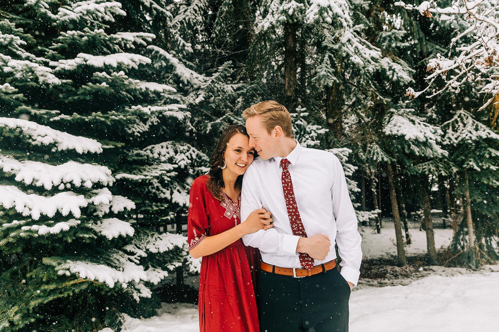 Christmas Family Minis Logan Utah Family Photographer Bella Alder Photo Film