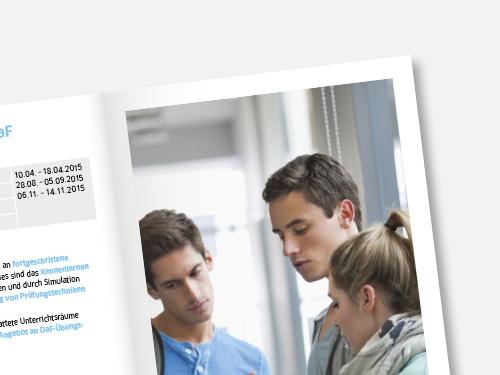 GOETHE-INSTITUTE IN DEUTSCHLAND  Werbung für Deutsch als Fremdsprache