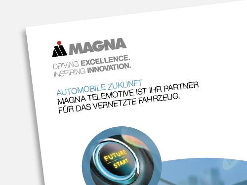 MAGNA TELEMOTIVE  Imagebroschüre