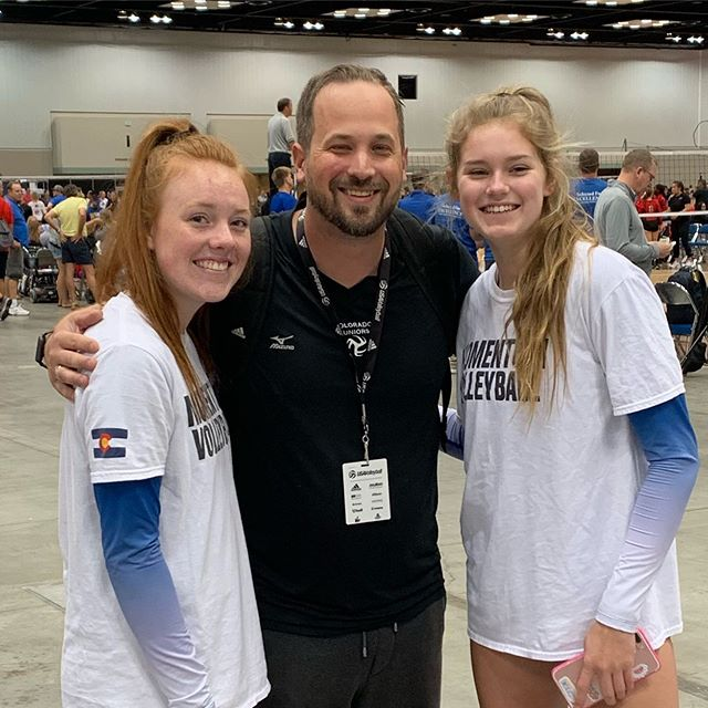 Georgia, Elsa and Coach Chris at nationals! @izzi_bel  @arianna_crayton , send us your pics from Nationals and we will post them!
