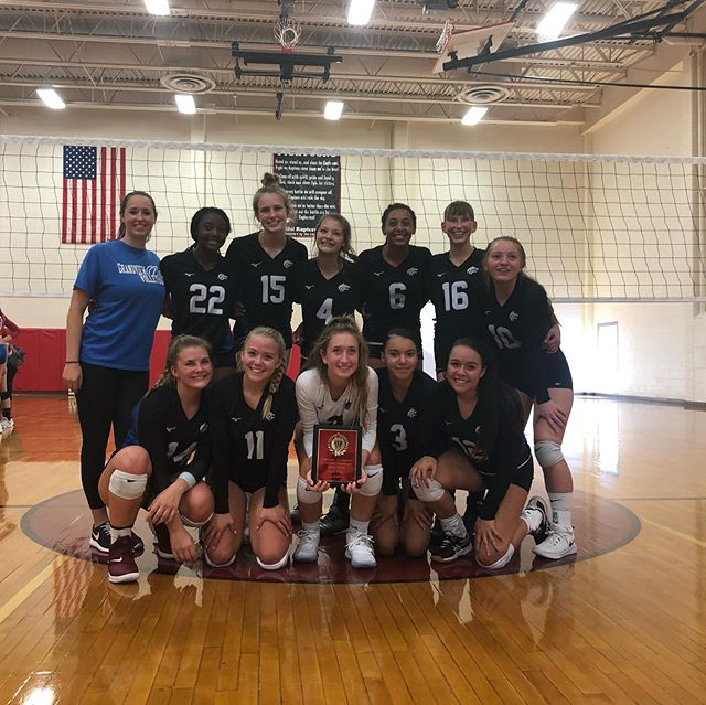 Grandview JV wins the Eaglecrest JV tournament! Undefeated for the day! Way to go!