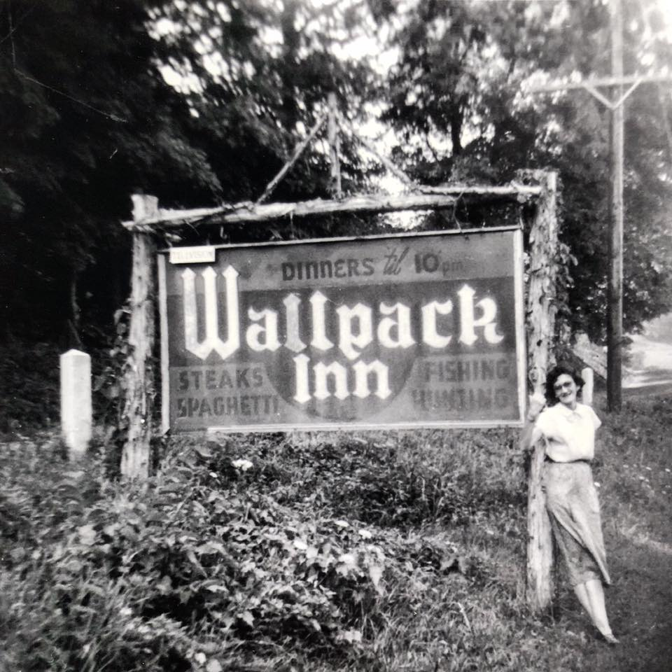 """Fun Fact: Walpack Inn was originally spelled with 2 """"L""""s but was later changed to one """"L"""" because the sign painter liked how it looked better!"""