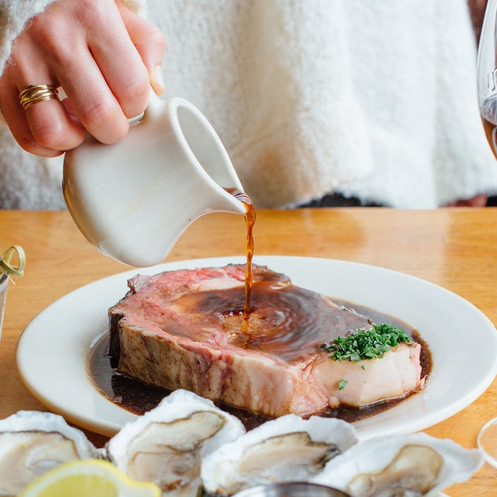"""Fridayprime rib special - Fridays 5-9pm12oz Prime Rib // $22.99 (normally $31)16oz Prime Rib // $26.99 (normally $35)This price includes our homemade Brown Bread, fresh salad bar, and a choice of a side!Highlighted in the article """"50 restaurants to choose from if it's your last meal in N.J."""""""