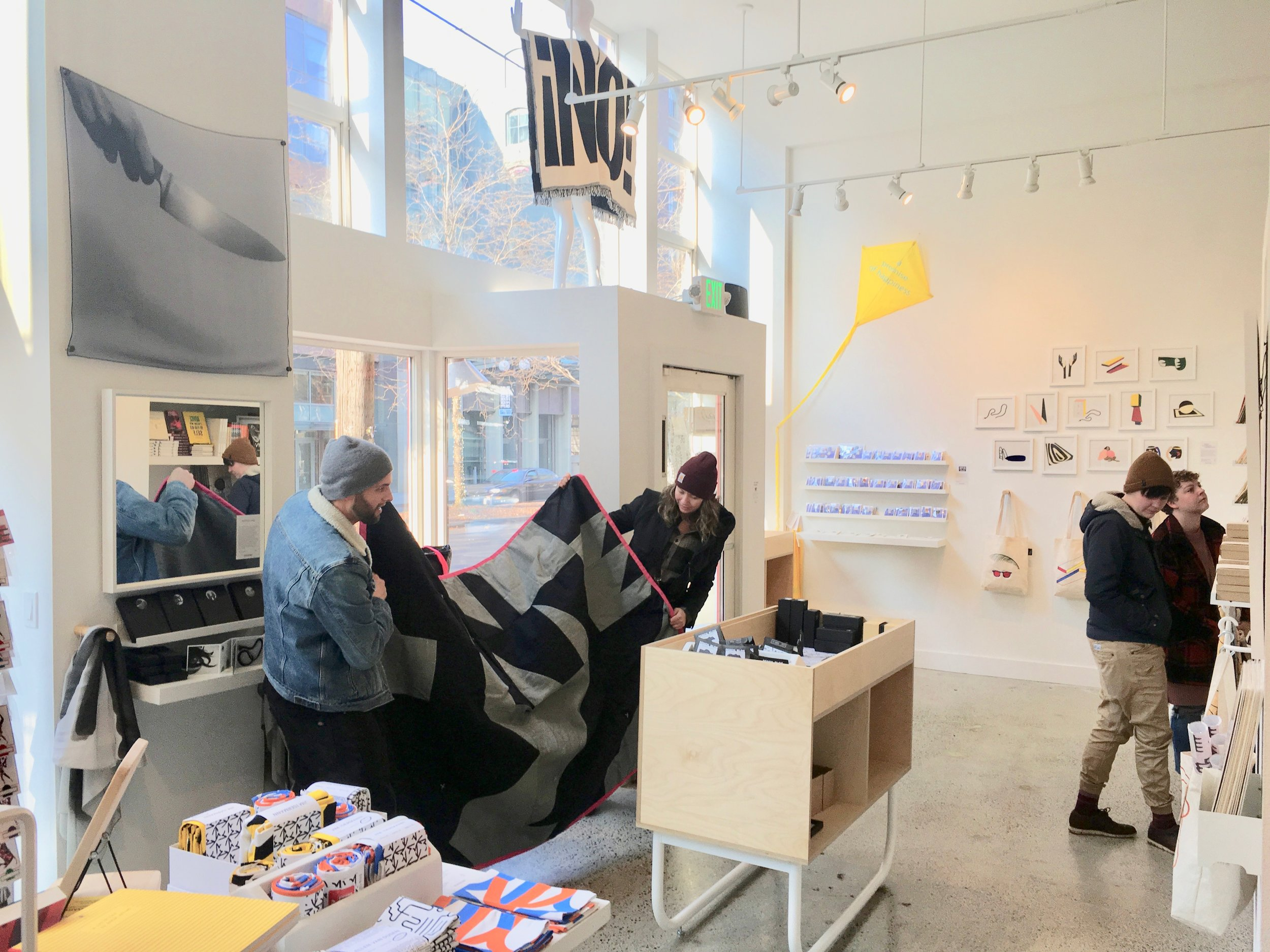 OPEN EDITIONS pop up at NON-BREAKING SPACE in Seattle