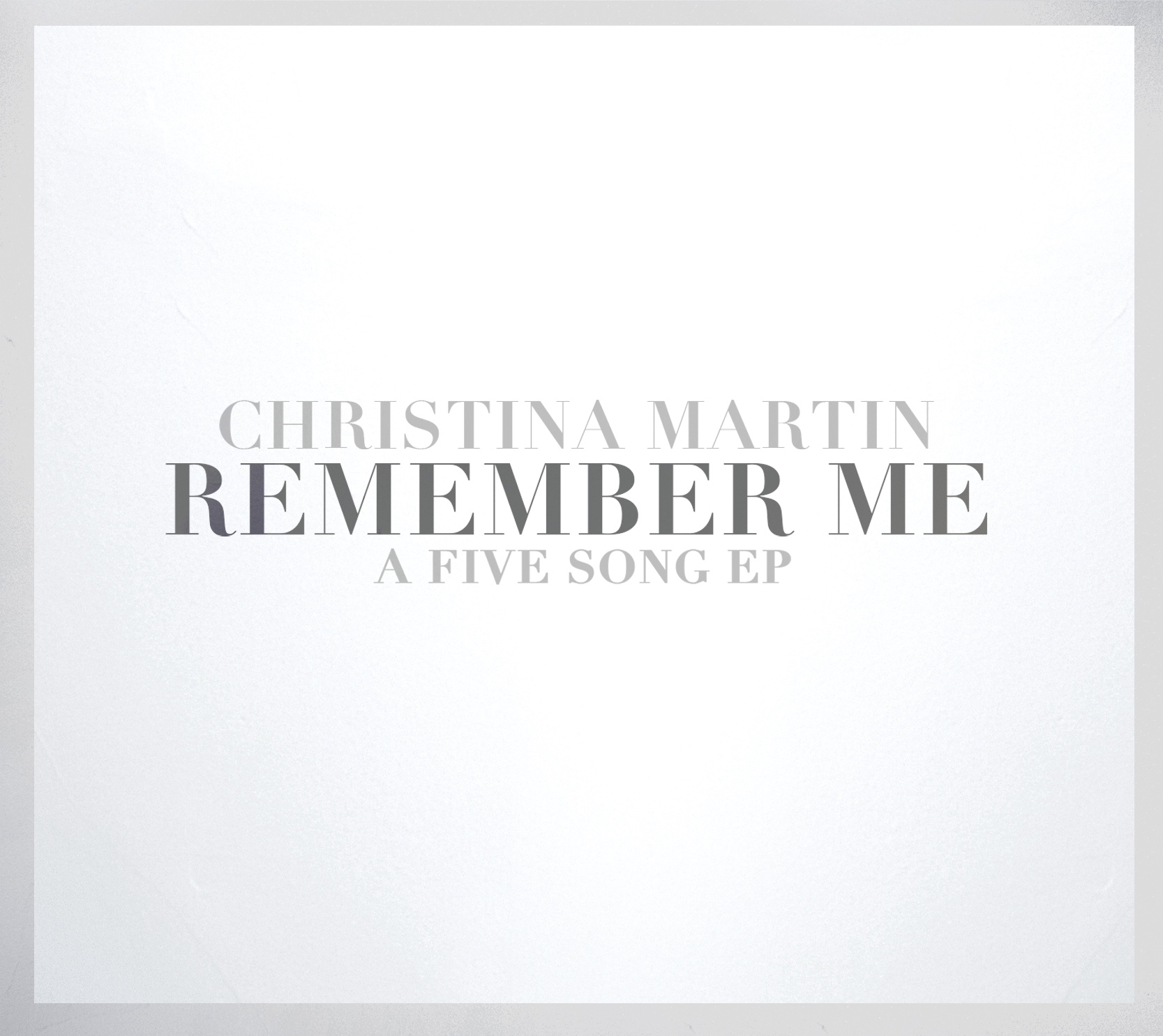 remember me-EP - 2014 Music Nova Scotia Inspirational Recording of the Year