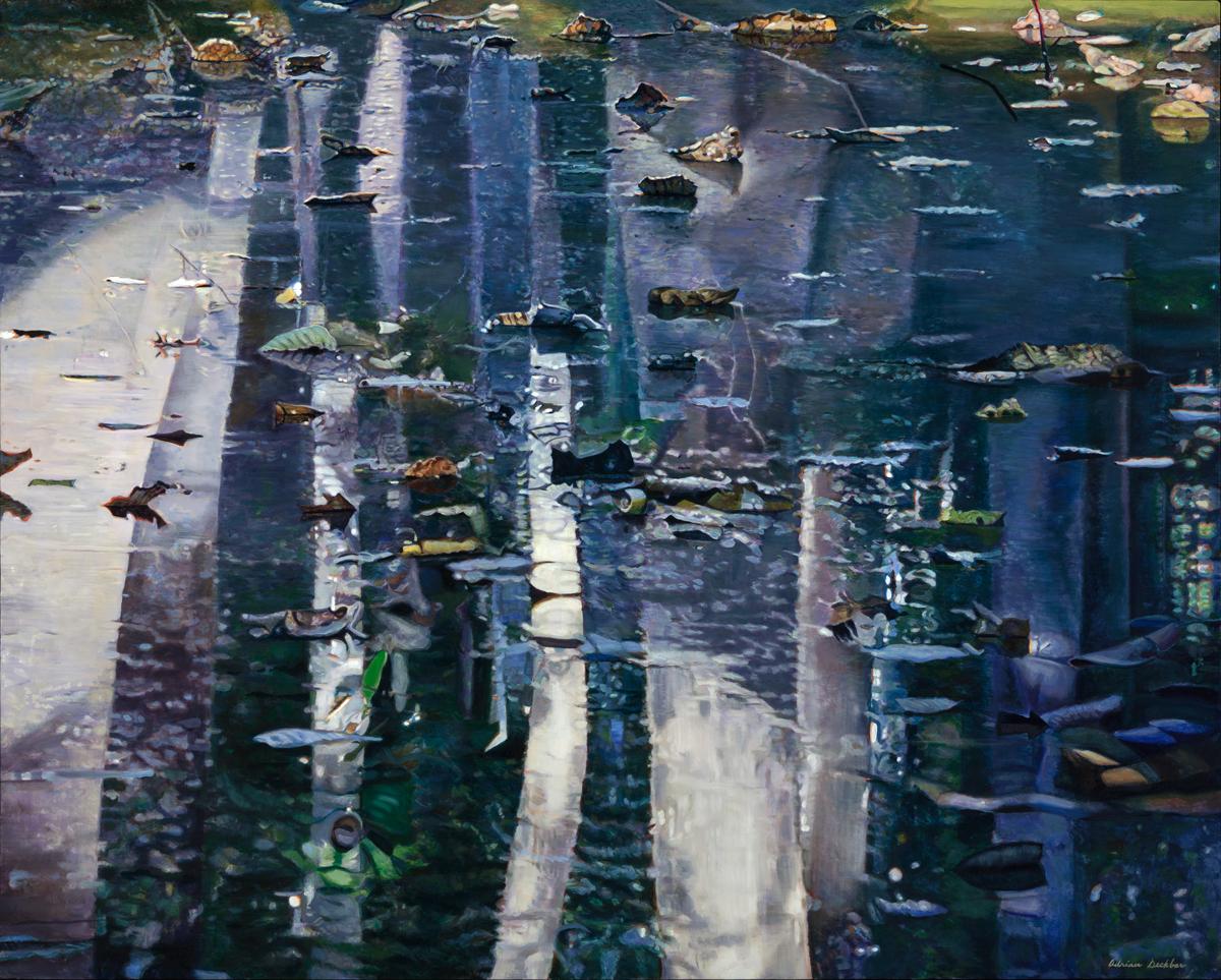 "Transformation , acrylic on canvas, 48 x 60"", 2012"