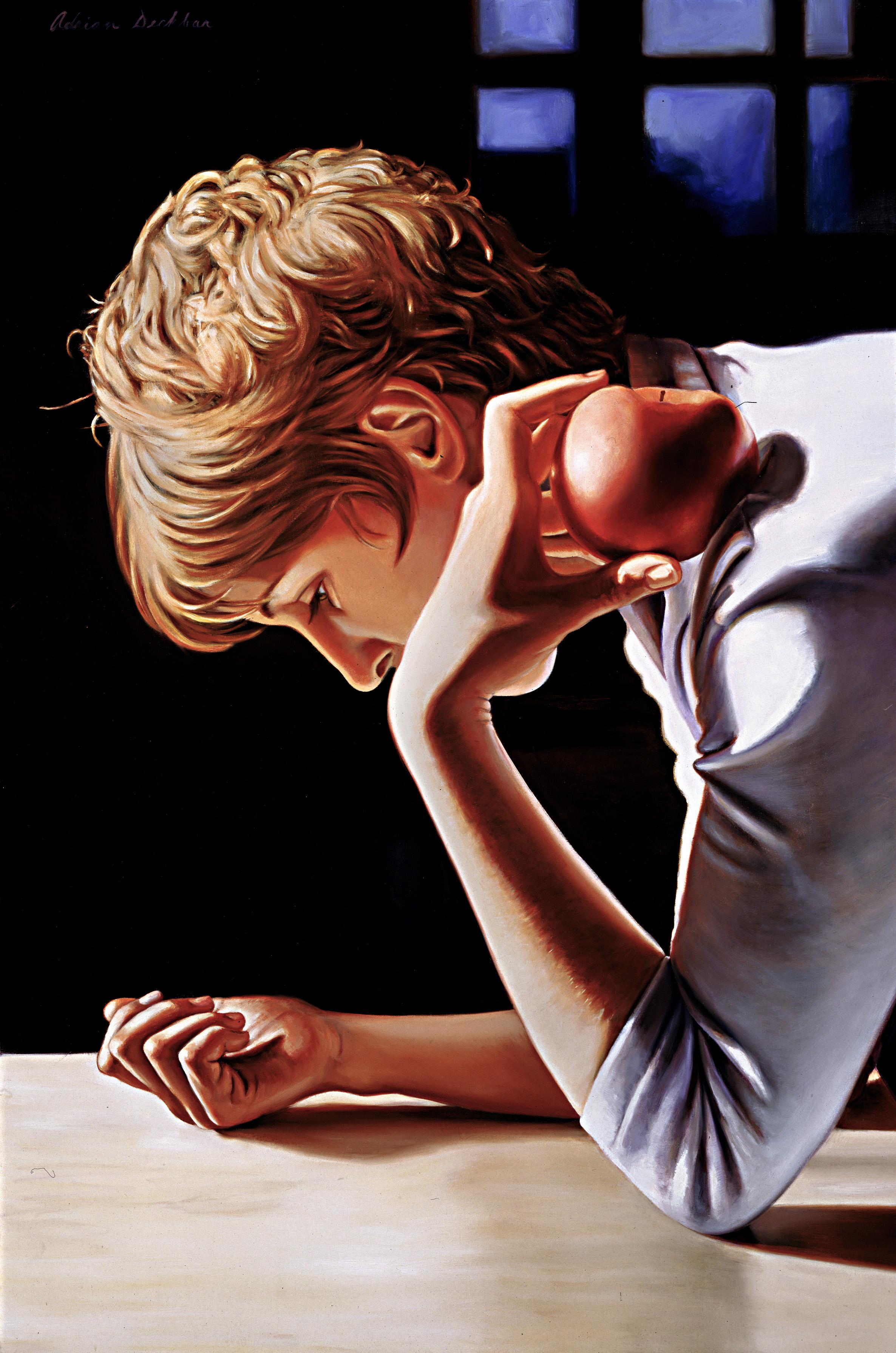 "Daydreamer , print edition canvas print, 36"" x 25"", ed. 50, 2002"