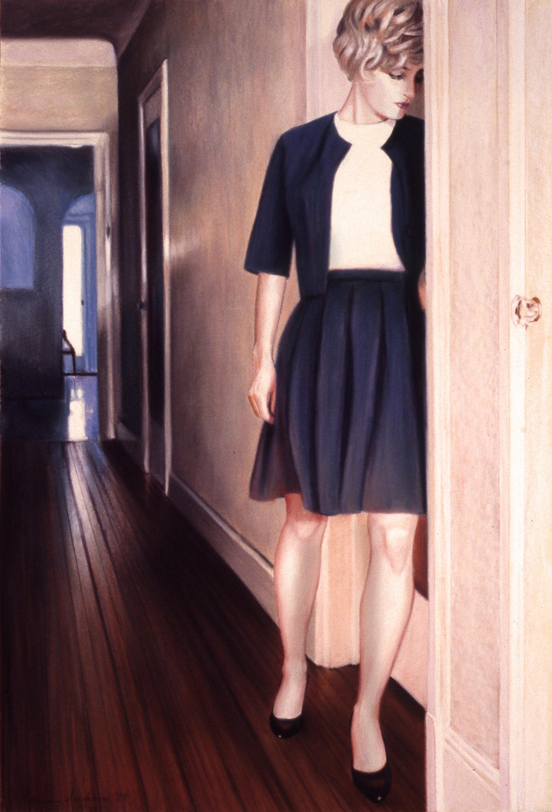 "The Passage , pastel, 39"" x 31"", 1988"
