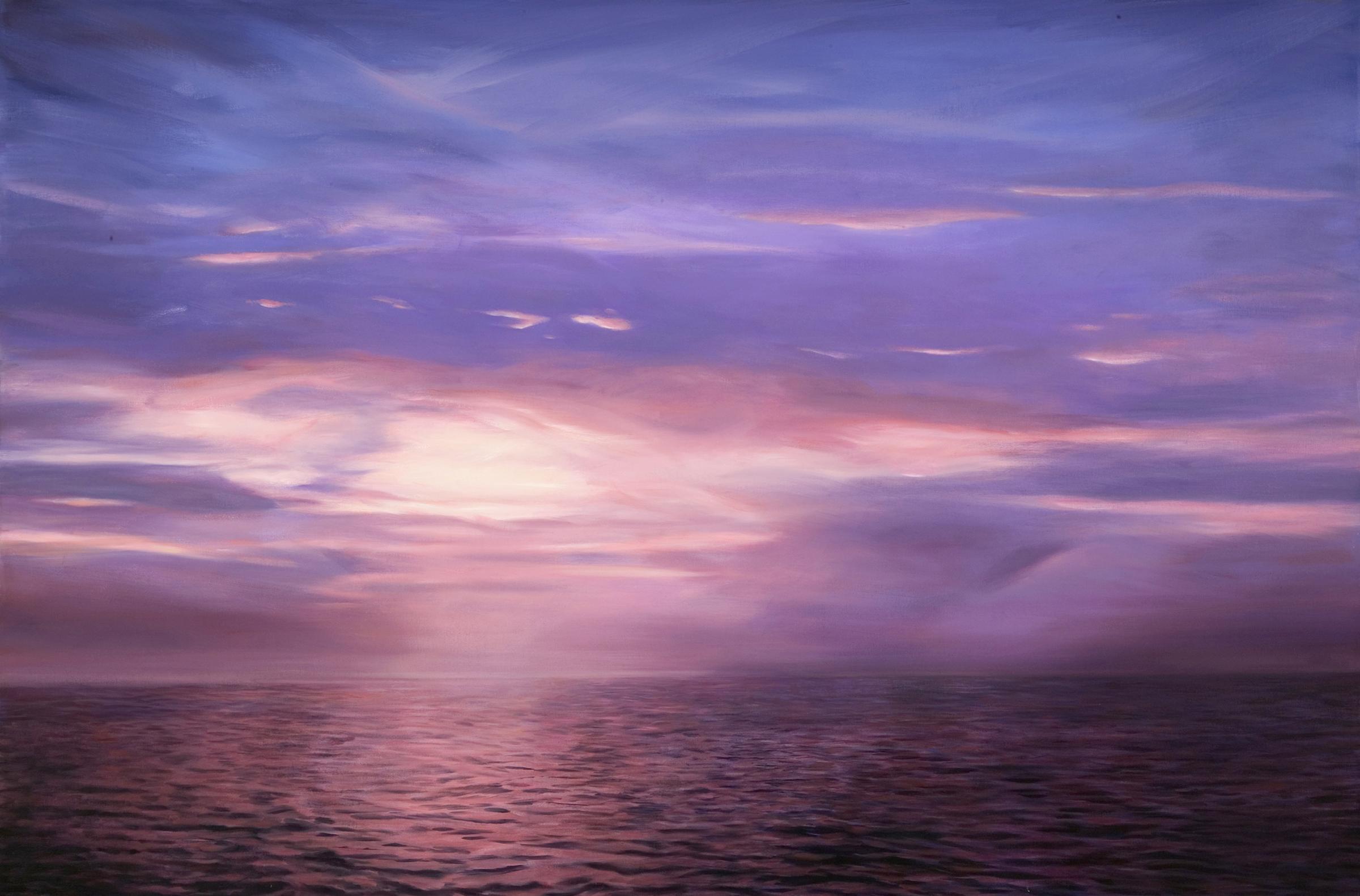 "Lake Ponchartrain , oil, 40"" x 60"", 2004"