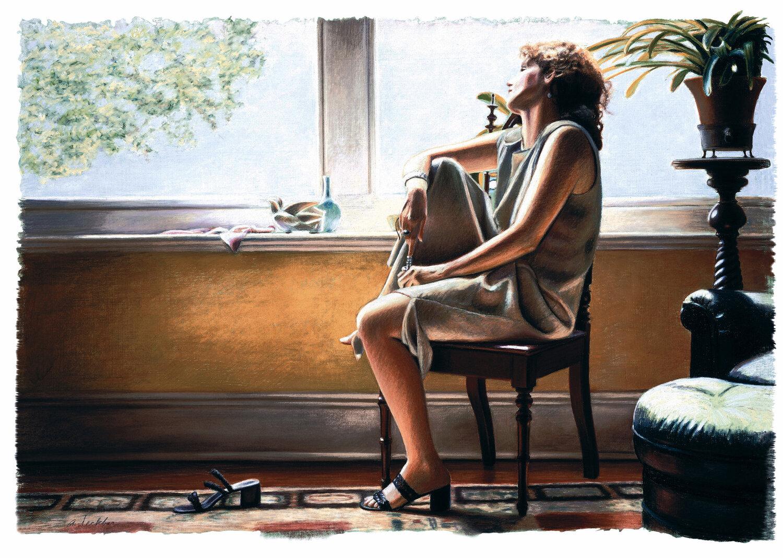 "Sun Window , limited edition print, 23"" x 33"", ed. 275, 2000"