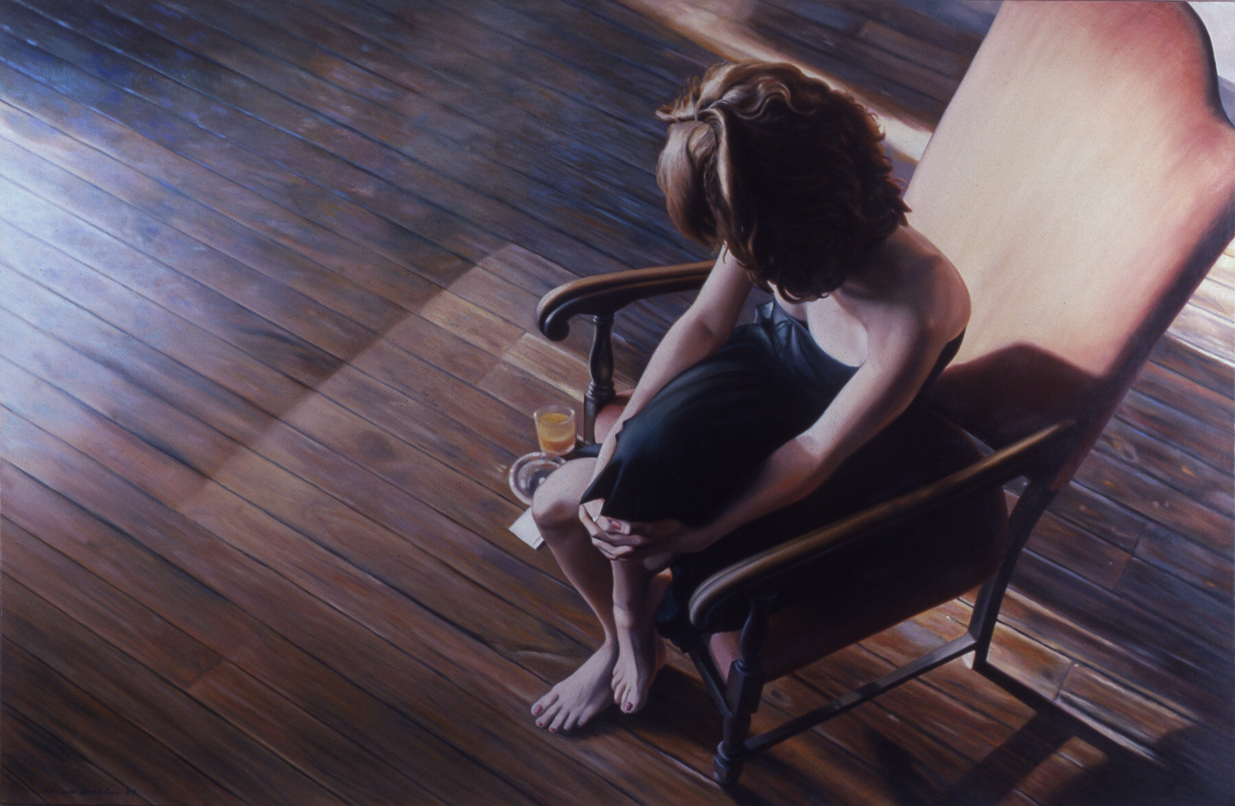 "Private Rooms XII , oil, 40"" x 60"", 1989"