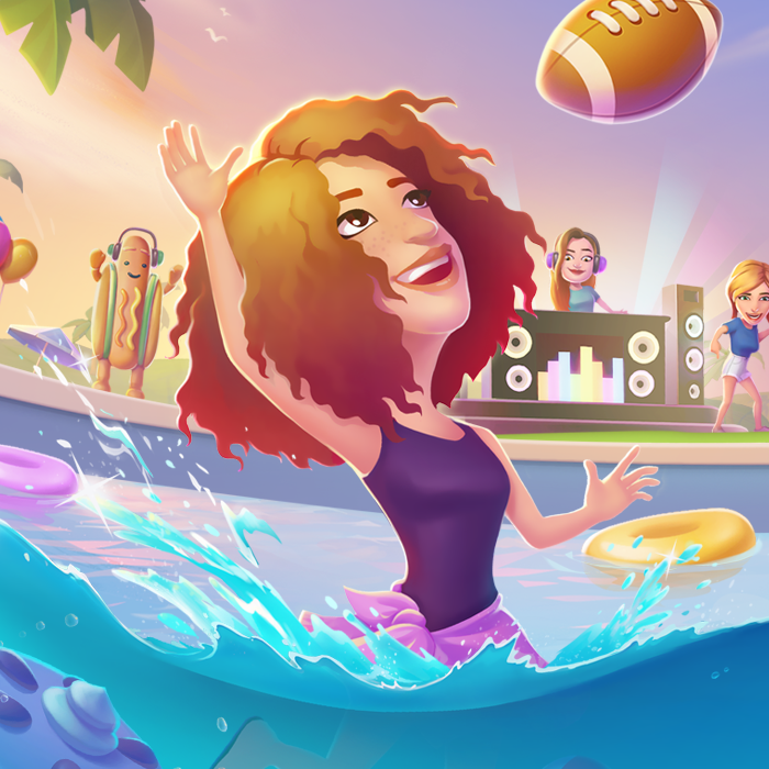 Bitmoji Party - Snapchat | art direction & branding