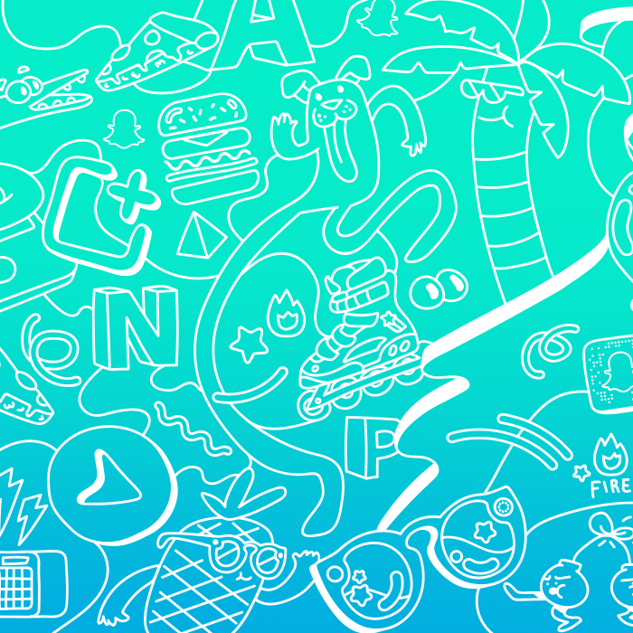 Peel it. Stick it. - Snapchat | illustration & branding