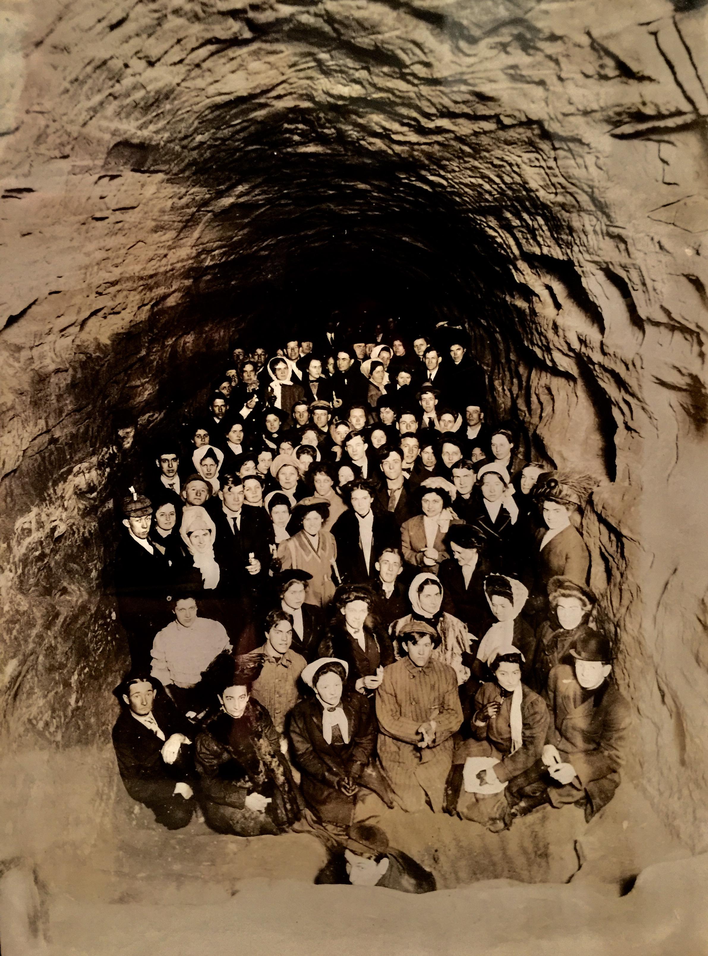 Circa 1910 UNL Palladian Party -