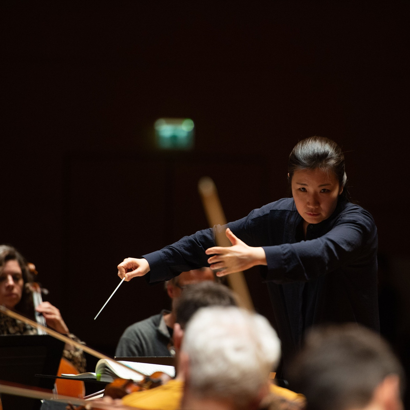 """Eun Sun Kim and the Bergen Philharmonic Orchestra unleashed a formidable storm."" - Opera Now"