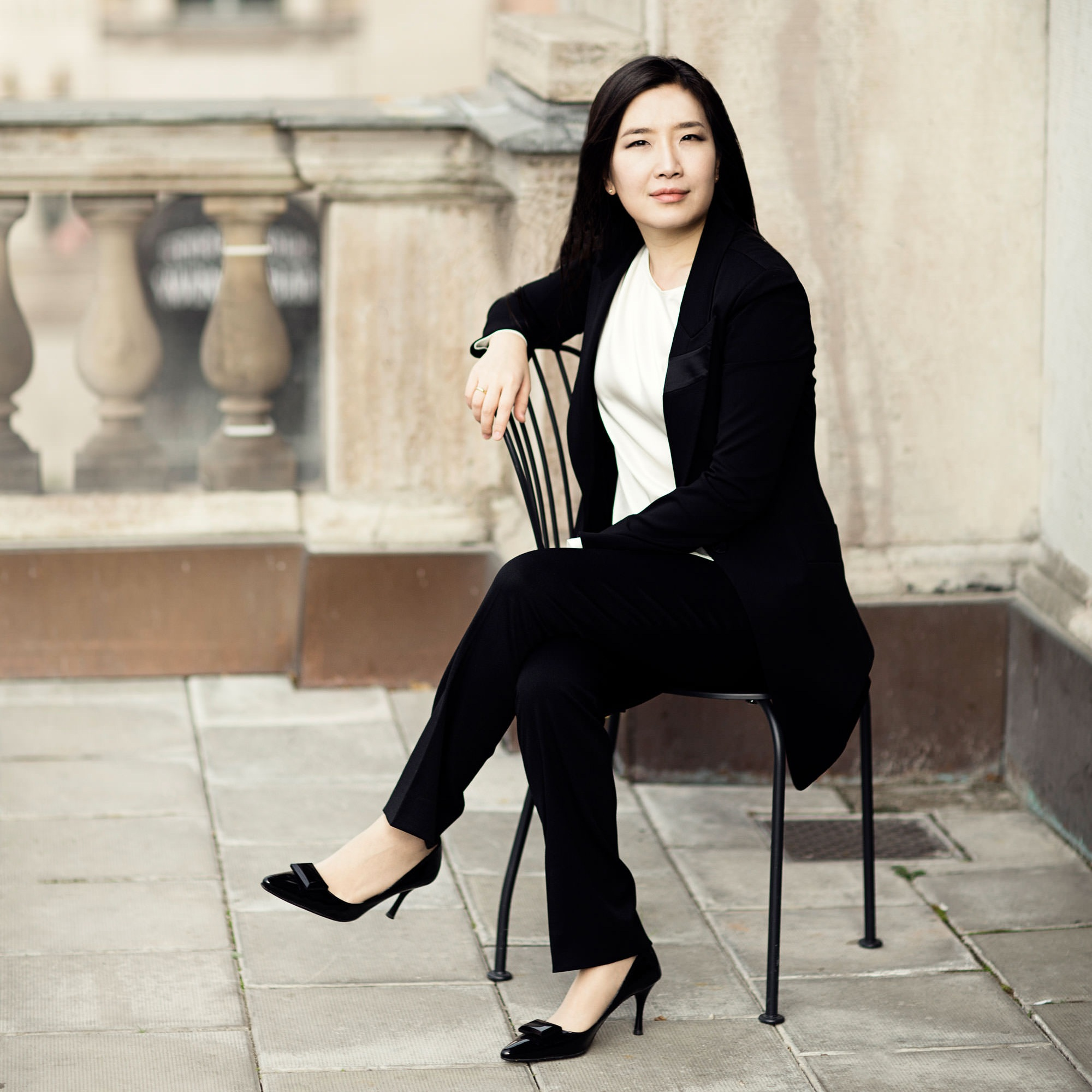 """Remember this name: Eun Sun Kim. She's a brilliant rising star in the conducting world. A maestra to watch…"" - Cincinnati Business Courier"