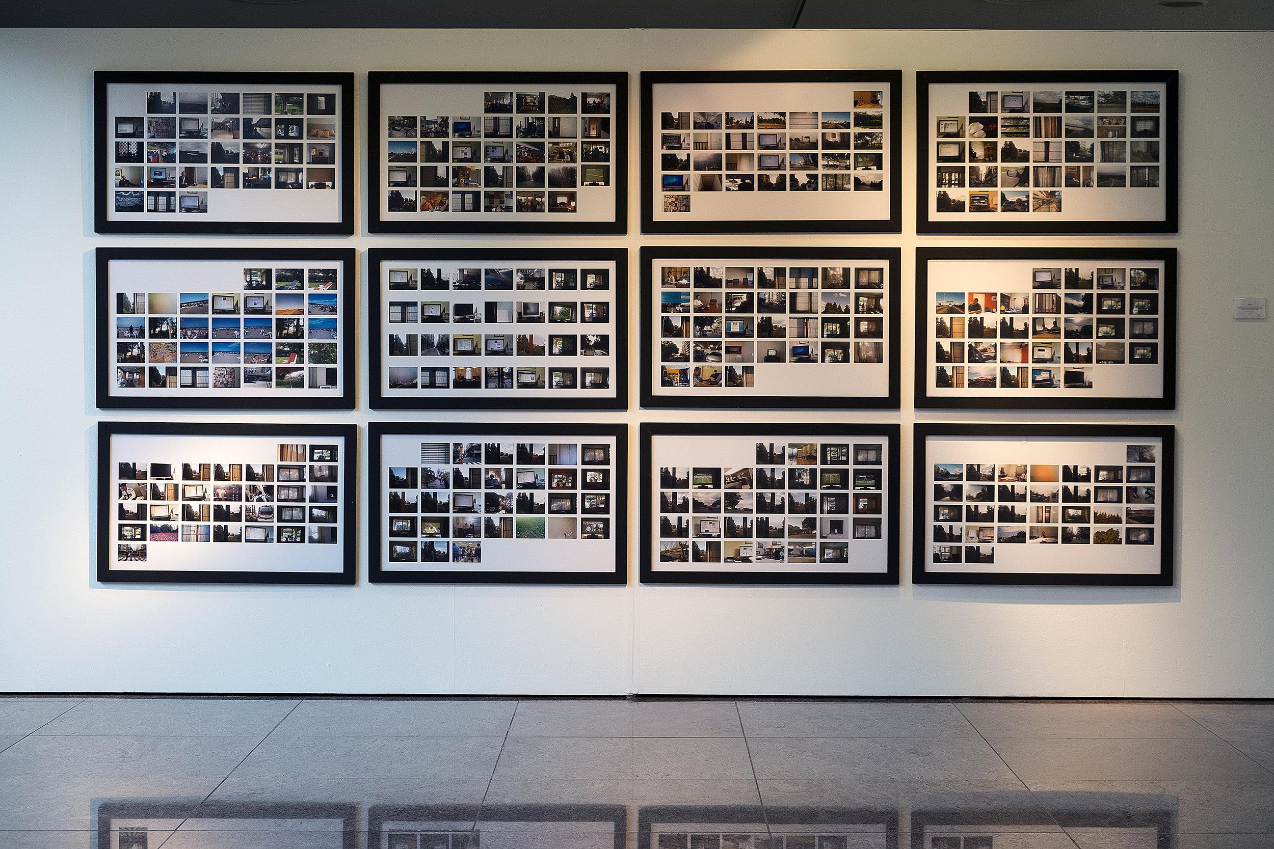 4pm (2010) en el Museo Provincial de Bellas Artes Franklin Rawson, San Juan, Argentina. Julio de 2016.