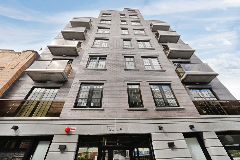 "The L - 25-34 31st street, Astoria, Queens, NYLocated on a sedate block at 23-36 31st Drive, the ""L"" is a brand-new 22-unit building with luxurious rentals. The design hewn by Gerald Caliendo Architects features a modern concrete and glass exterior rising five stories in height. Complementing...Learn More"