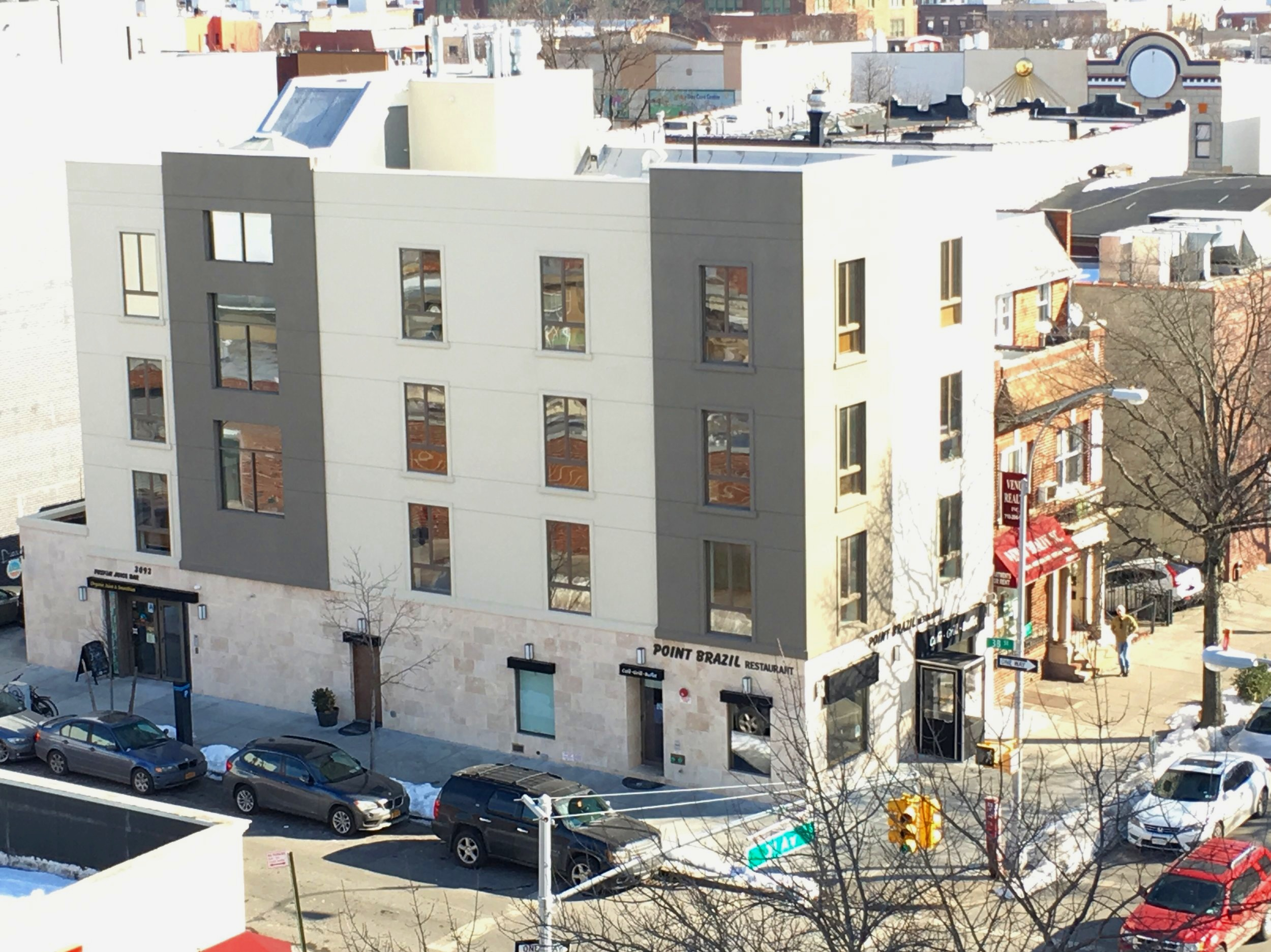 30-93 38th street - Astoria, NYThis gorgeous, brand new building features top of the line appliances and finishes, floor to ceiling windows, and large living spaces. It is located steps from Steinway, restaurants, shopping, a supermarket, and the N/W/R trains.Learn More