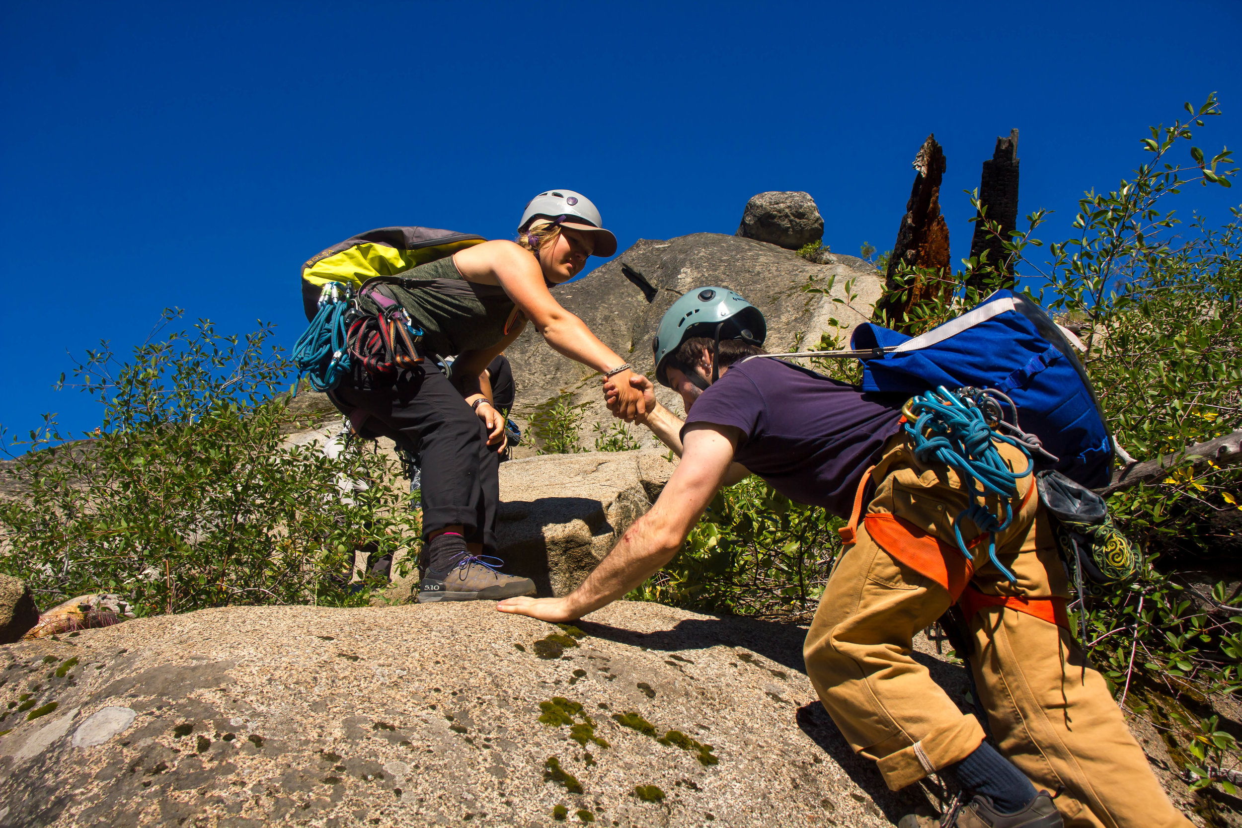 - The Cascade Leadership Challenge Venture Crew is run 100% by volunteers.