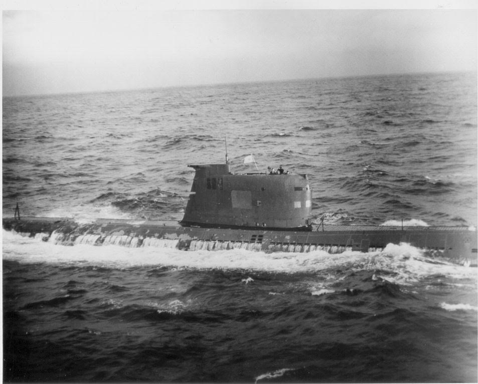 B-59 Foxtrot Class Soviet Submarine - was armed with two nuclear torpedoe.