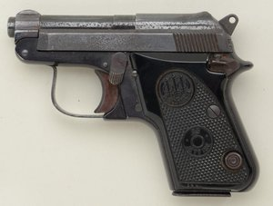 .25 caliber Beretta pistol