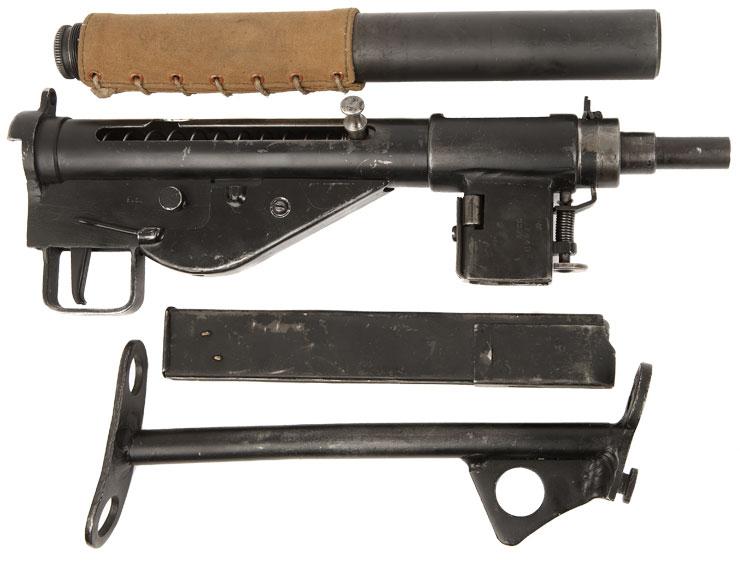 Sten sub-machine gun