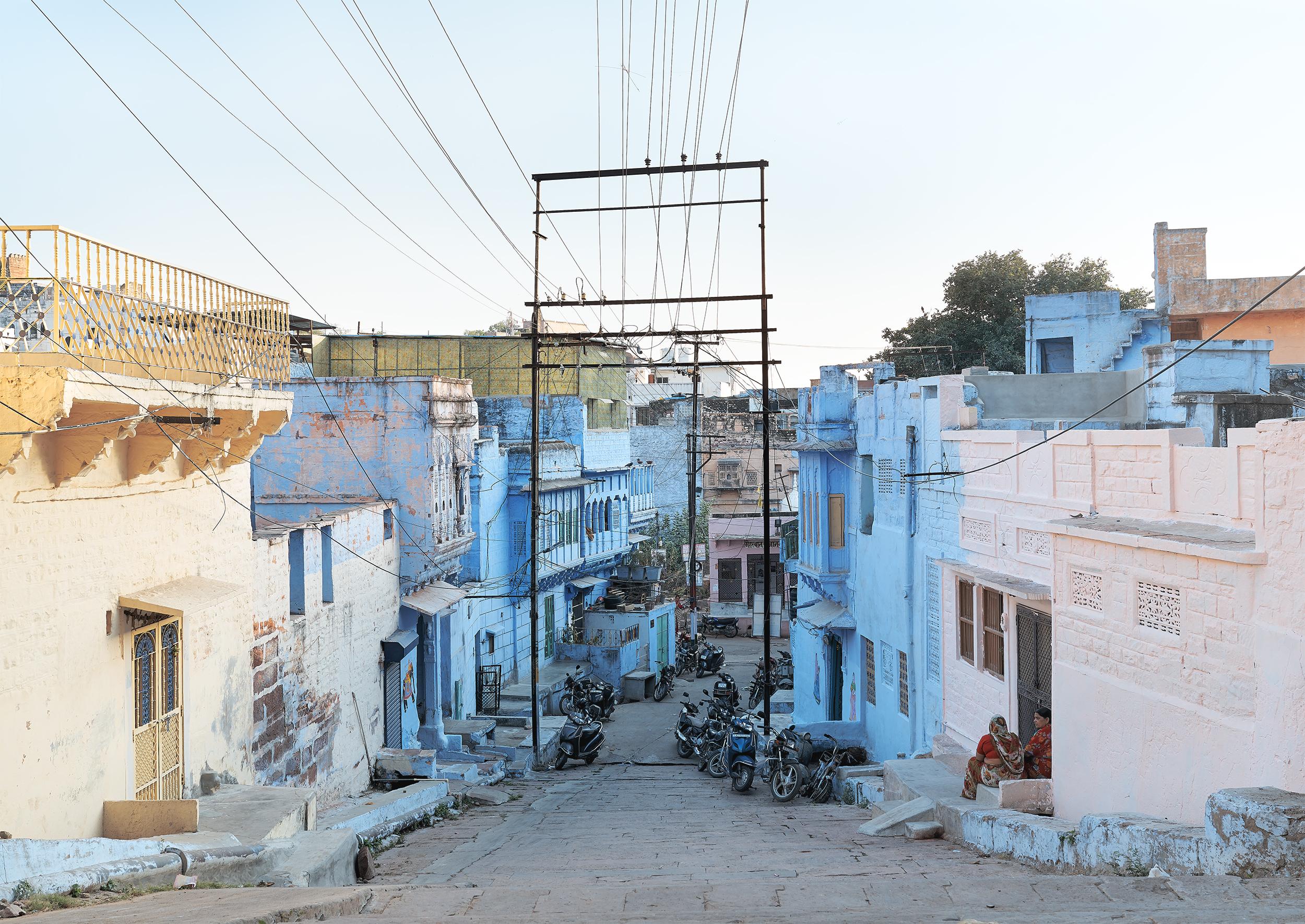Blue Street, Jodhpur, India, 2017