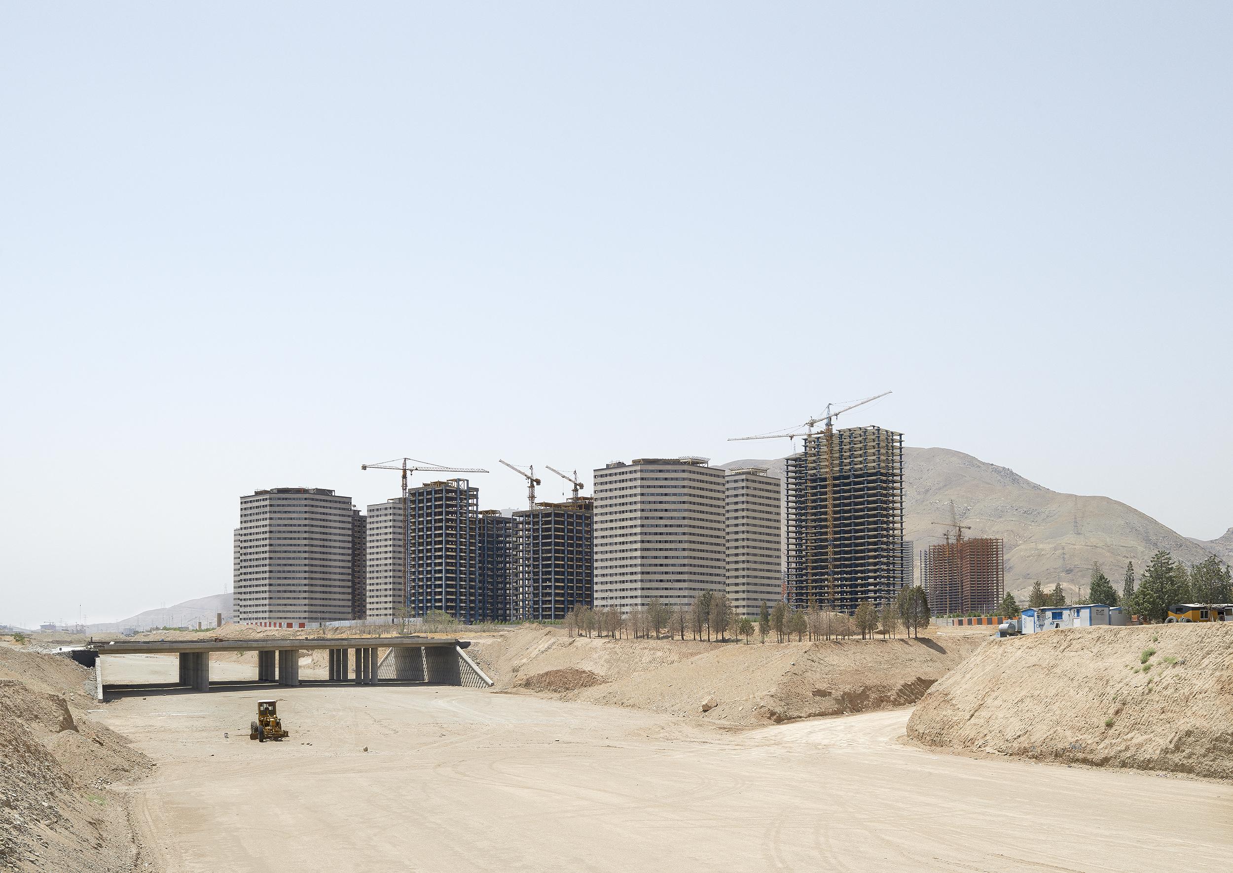 Construction, Tehran, 2015