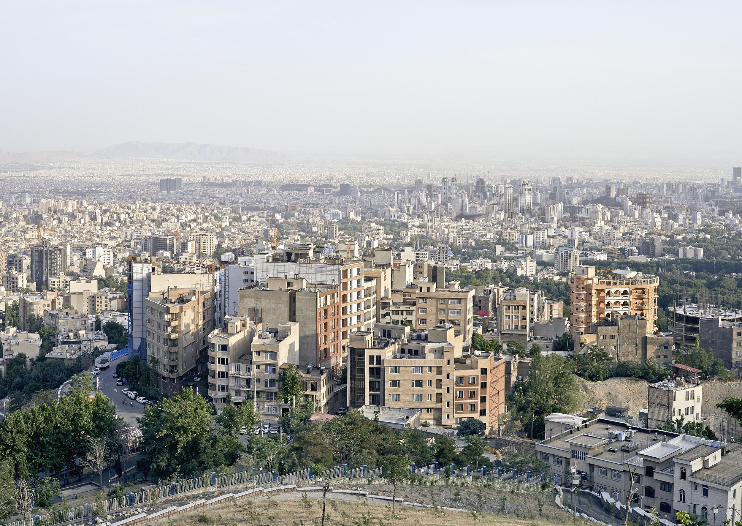 Sunset, Tehran, 2015