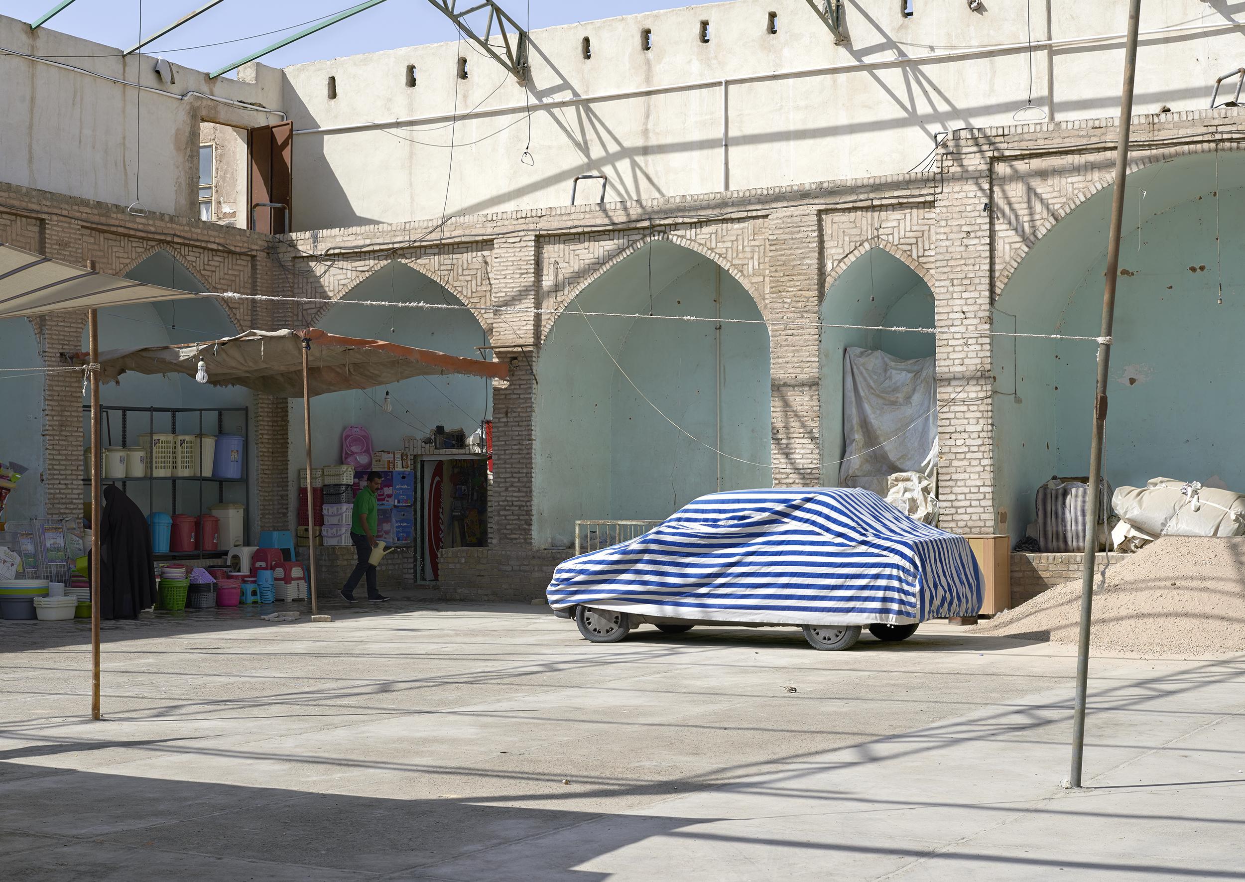 Market, Yazd, 2015