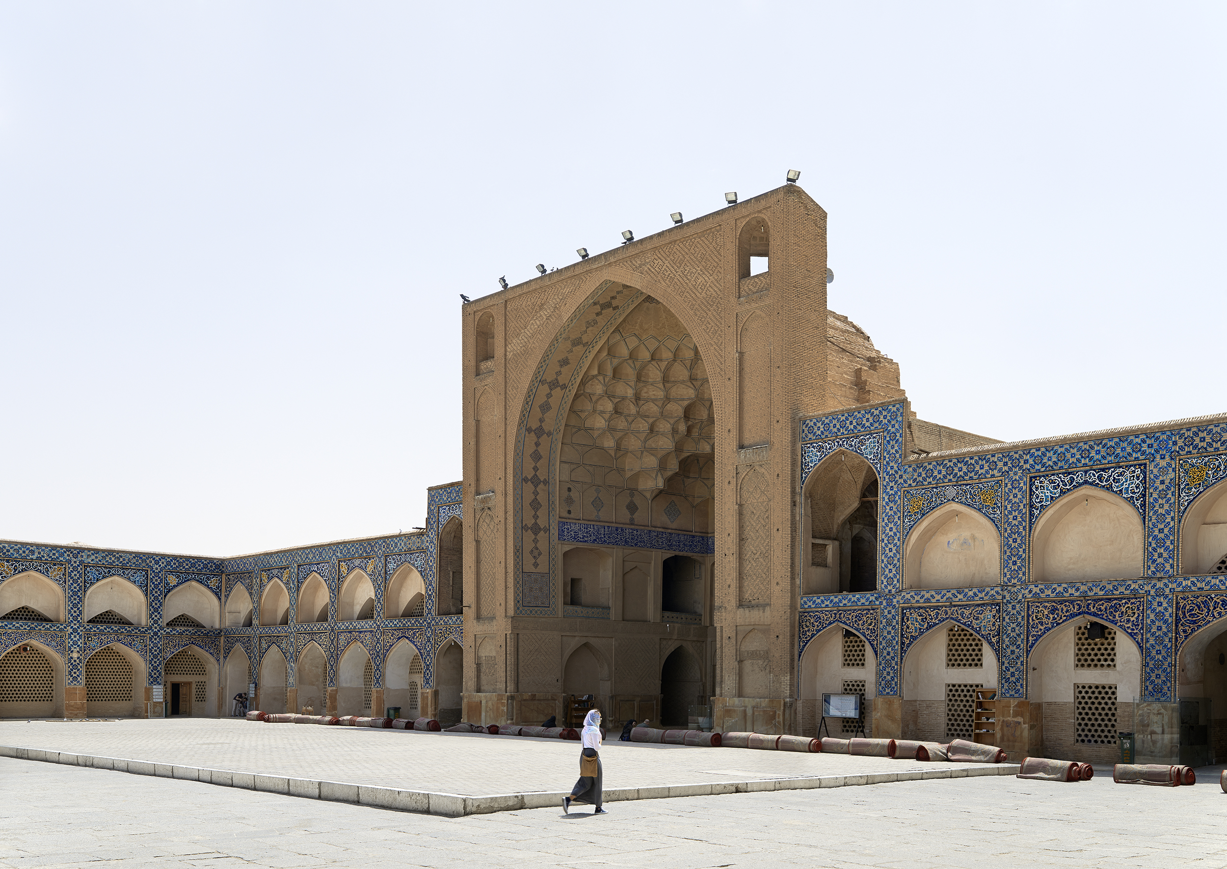 Midday, James Mosque of Isfahan, Isfahan, 2015