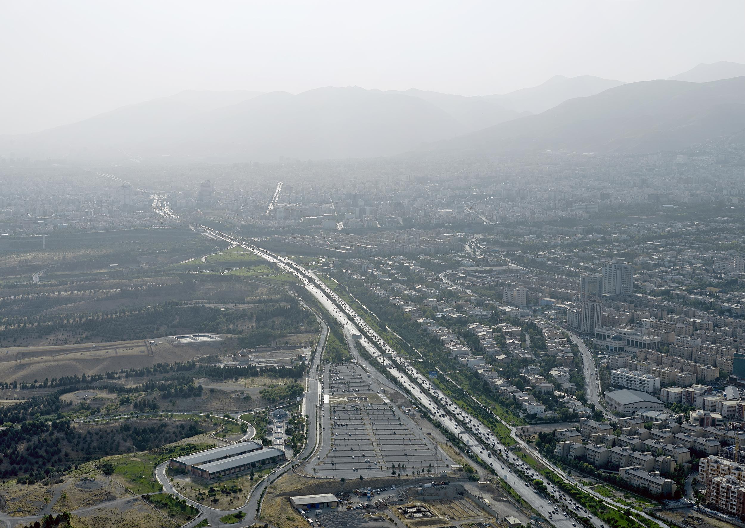 Motorway, Tehran, 2015