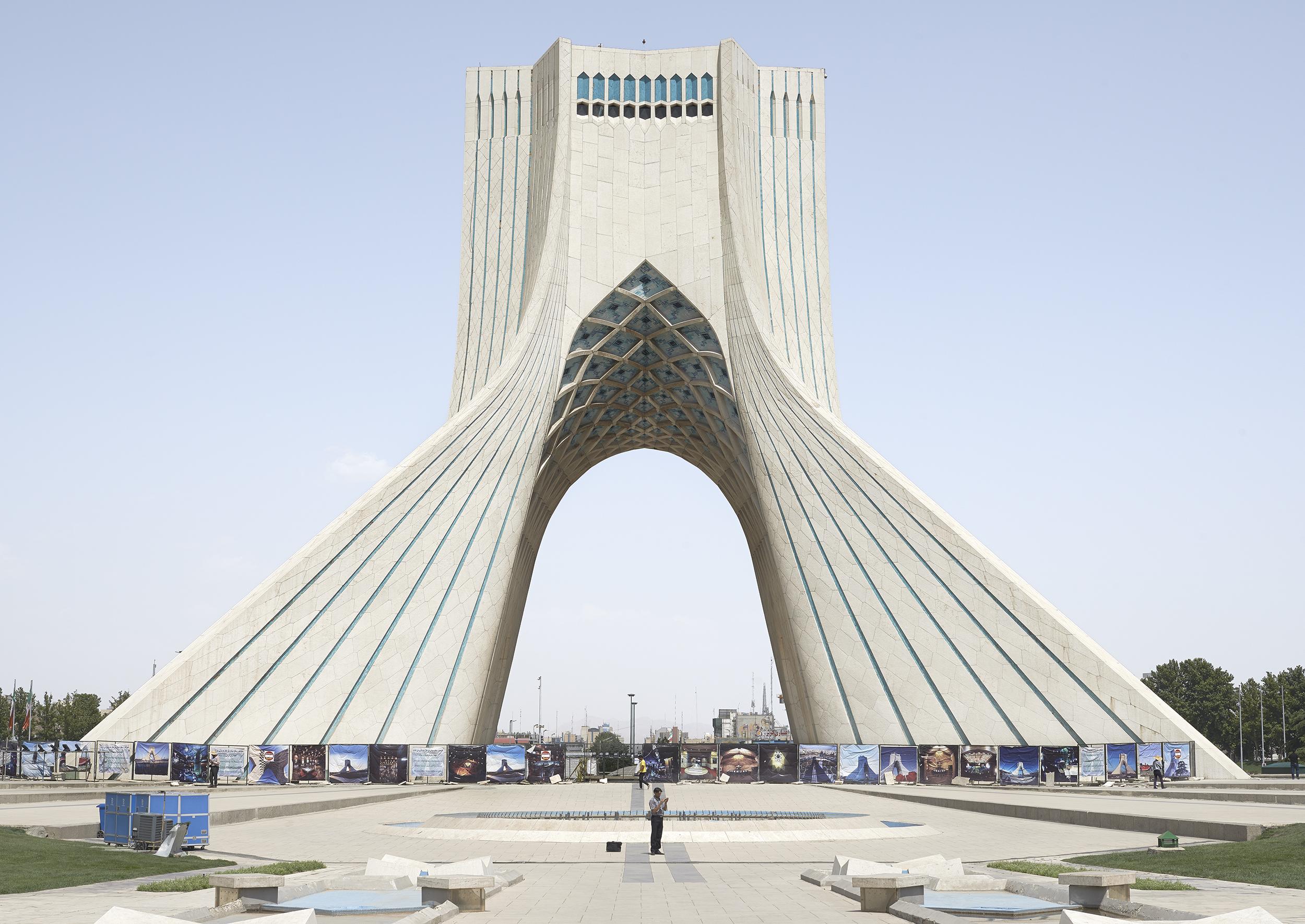 Azadi Tower, Tehran, 2015