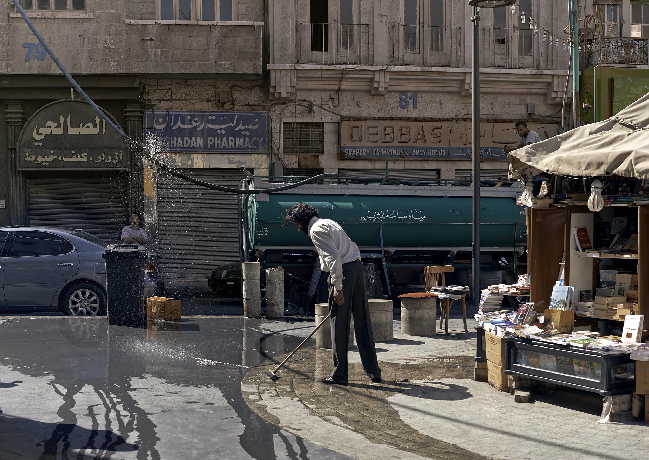Water, Amman, 2013