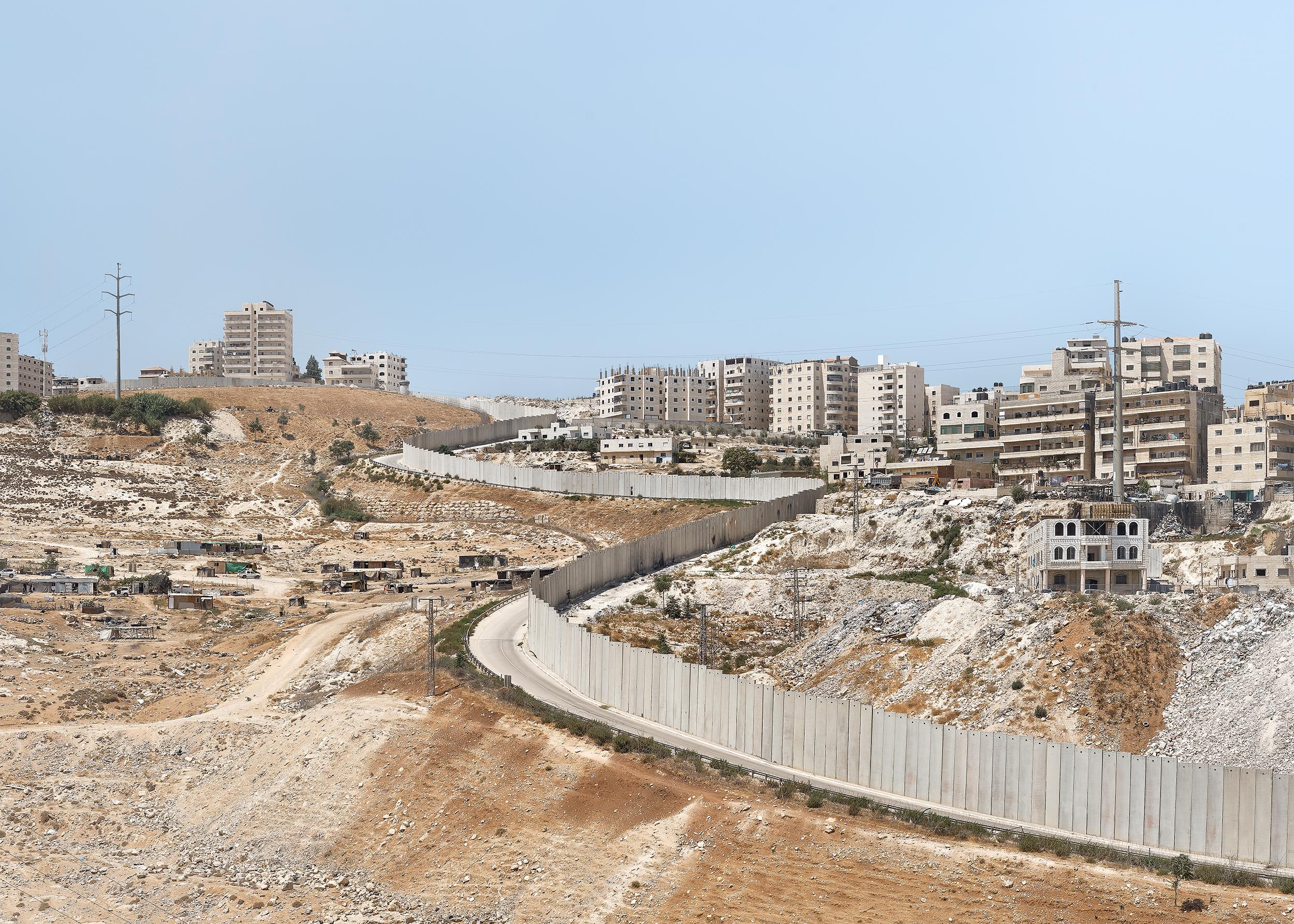 The Wall, East Jerusalem, 2017