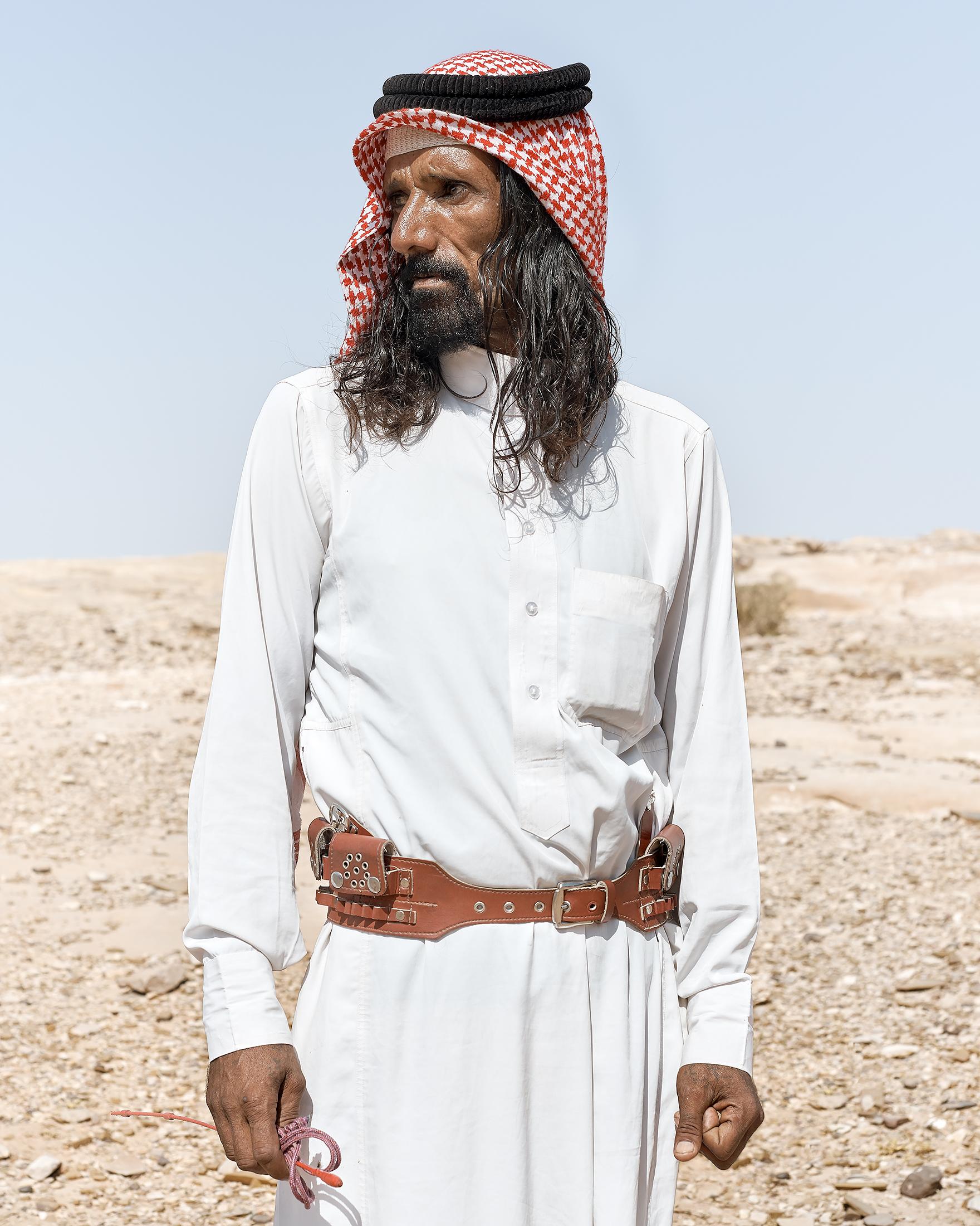 Bedouin, Petra, 2017